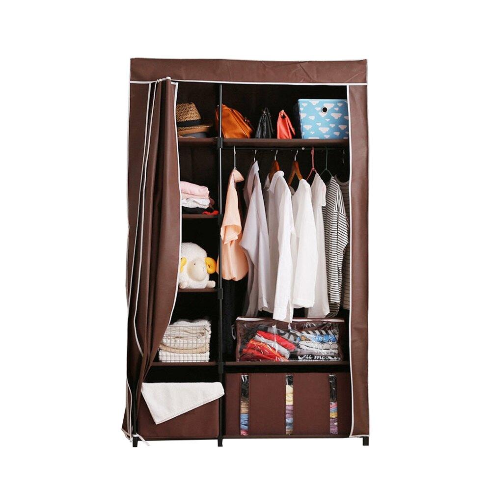 【千葉】簡易組裝時尚防塵衣櫥