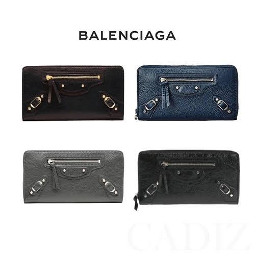 預購 法國正品 Balenciaga CLASSIC CONTINENTAL ZIP AROUND 羊皮拉鍊長夾 253036 - 限時優惠好康折扣