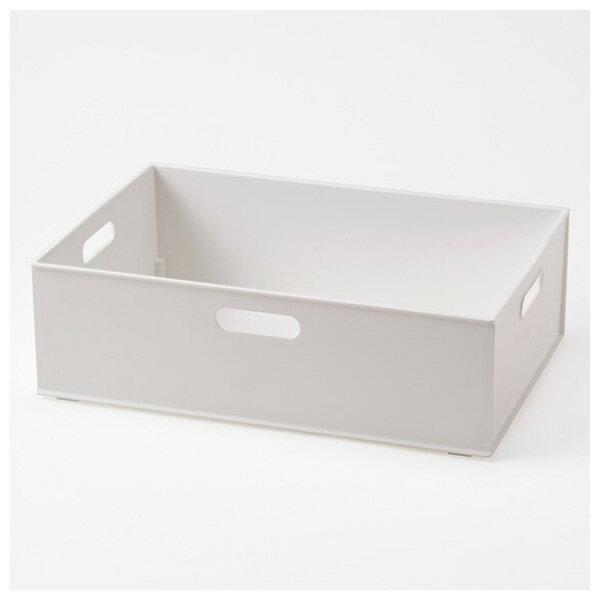 收納盒 橫式半格型 N INBOX GY NITORI宜得利家居 1