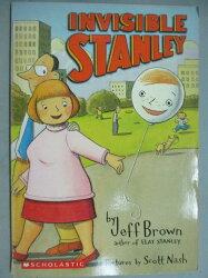【書寶二手書T7/原文小說_GJF】Invisible Stanley_Jeff Brown