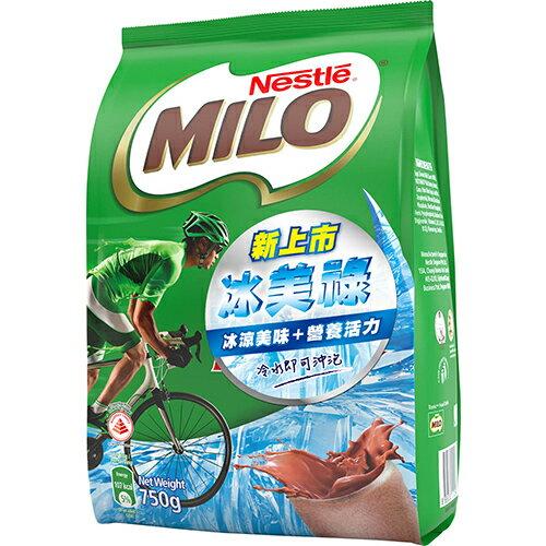 雀巢冰美祿巧克力麥芽飲品750g【愛買】