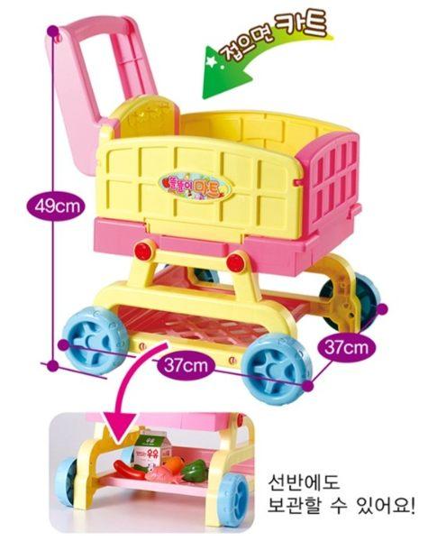 【MIMI WORLD】2in1可愛廚房手推車 2