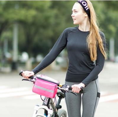 美麗大街【BF013E25E1】SAFEBET觸屏導航防水自行車包手機包車把包