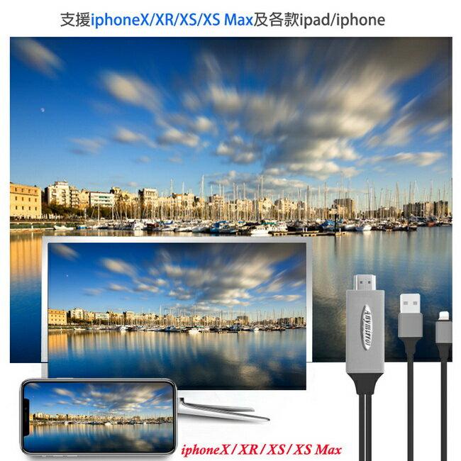 【FR09K永恆黑】四代Anymirror蘋果專用 HDMI鏡像影音傳輸線(加送3大好禮)
