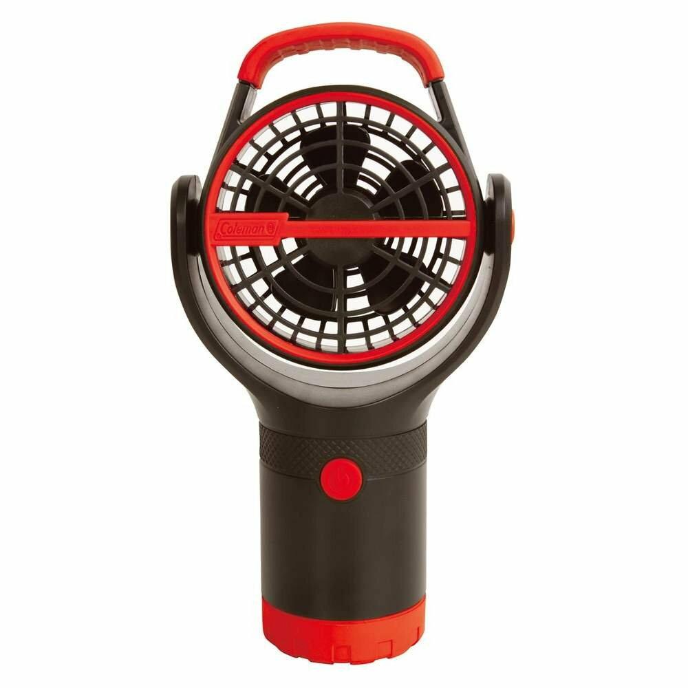 ~速捷戶外~CM~27315 美國Coleman 杯架小電扇  紅 ,杯座風扇,迷你風扇,