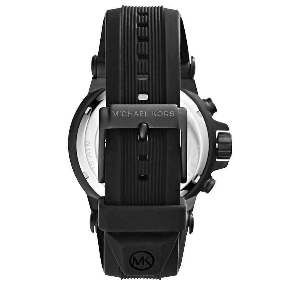 【MICHAEL KORS】正品 (男錶) Dylan系列競速方程式計時腕錶-黑【全店免運】 1