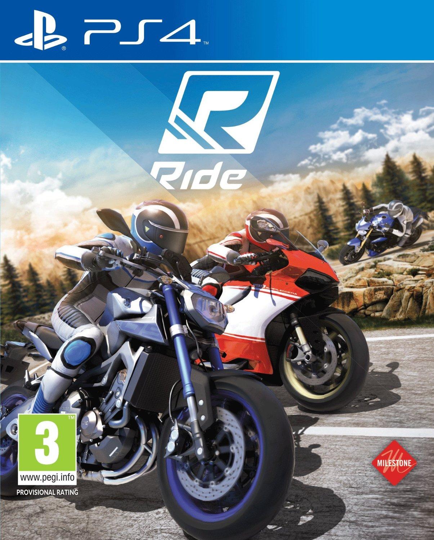 PS4 RIDE -英文版- 重型機車 摩托車 騎乘之旅 極速騎行 MOTOGP 男生聖誕交換禮物