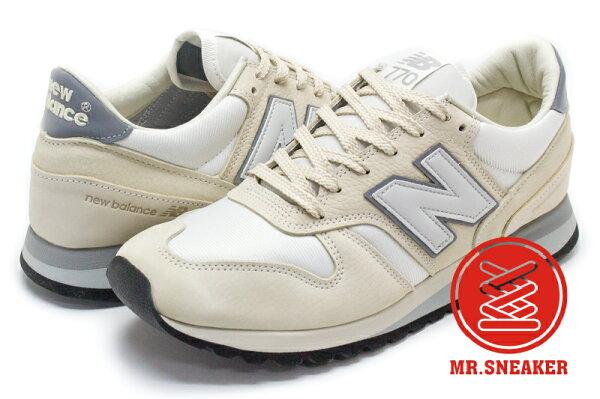 ☆Mr.Sneaker☆NEWBALANCE770NorseProjects英製限量聯名米白色男段