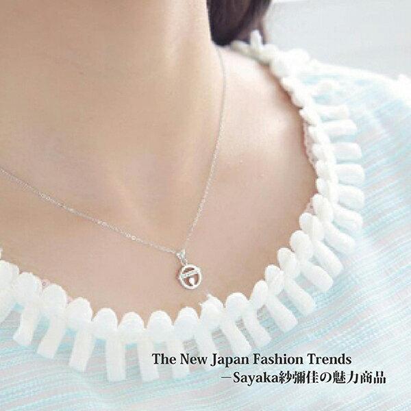 【Sayaka紗彌佳】925純銀可愛叮噹貓項鍊 2