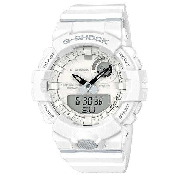 CASIO卡西歐G-SHOCKGBA-800-7AG-SQUAD系列藍芽計步運動腕錶
