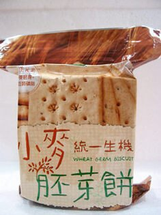 統一生機~小麥胚芽餅420公克包(夾鏈袋)*3包優惠價到20186