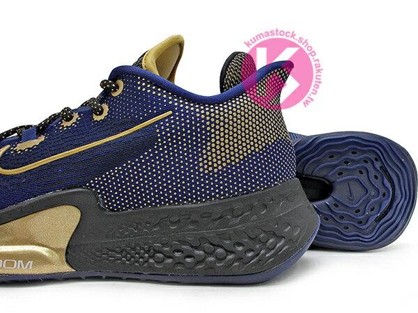 2020 REACT x 3 + ZOOM x 2 緩震科技結合 NIKE AIR ZOOM BB NXT EP 深藍金 籃球鞋 前掌 ZOOM AIR 氣墊 中底三層 REACT 緩震 奧運 (CK5708-400) 0820 3
