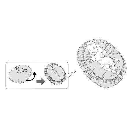 『121婦嬰用品館』unilove 哺乳枕 - 粉 6