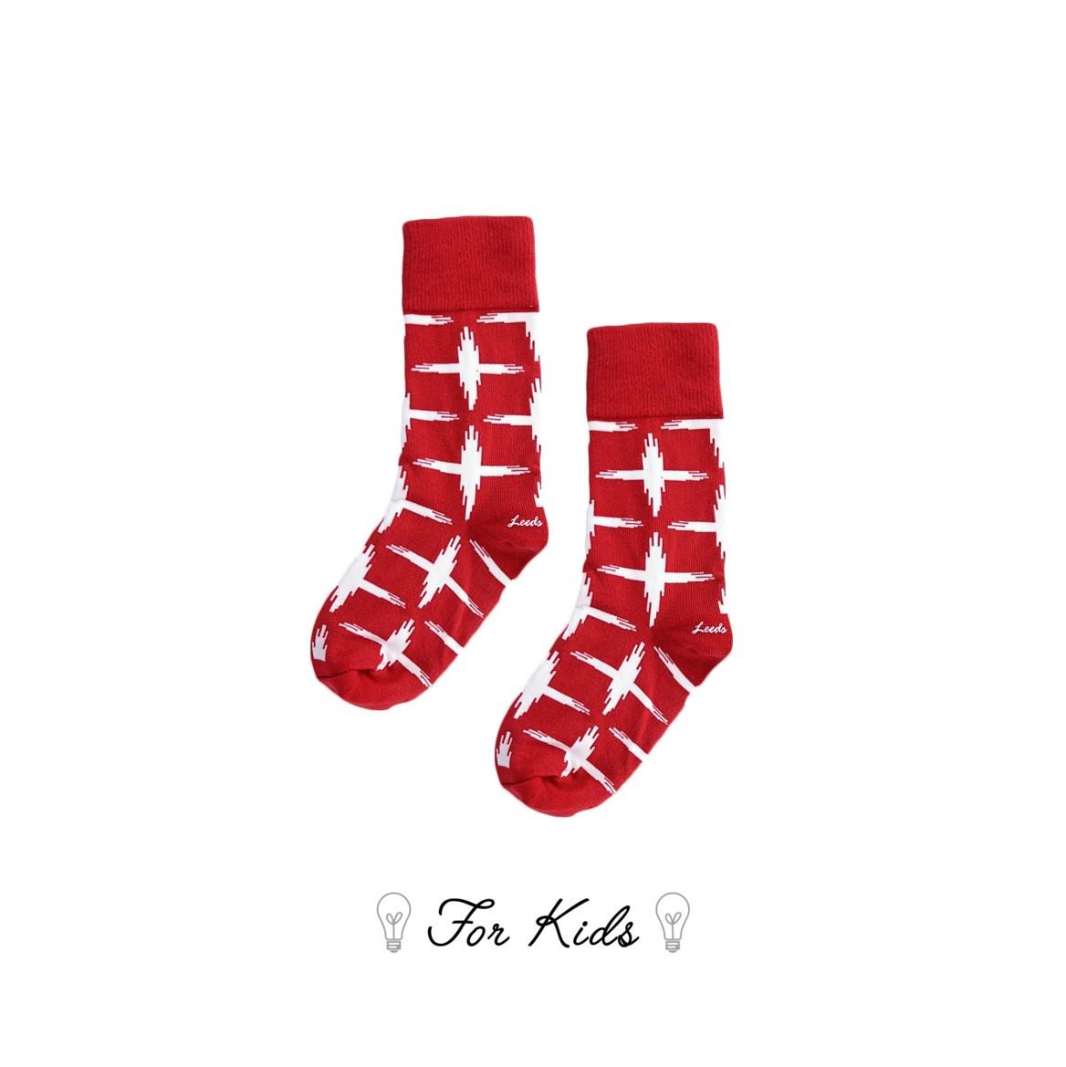 Leeds weather【英國設計】天然純棉孩童襪子★城市漫遊十字襪子【Cotton Socks Recommendations】- Tramway ( Vice Versa 系列共8款) 皇室孩童御用推薦、可愛輕鬆穿、透氣舒適耐穿好搭配