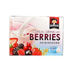 QUAKER 桂格 夏日珍穀綜合莓果 燕麥片 夏日限定 食品