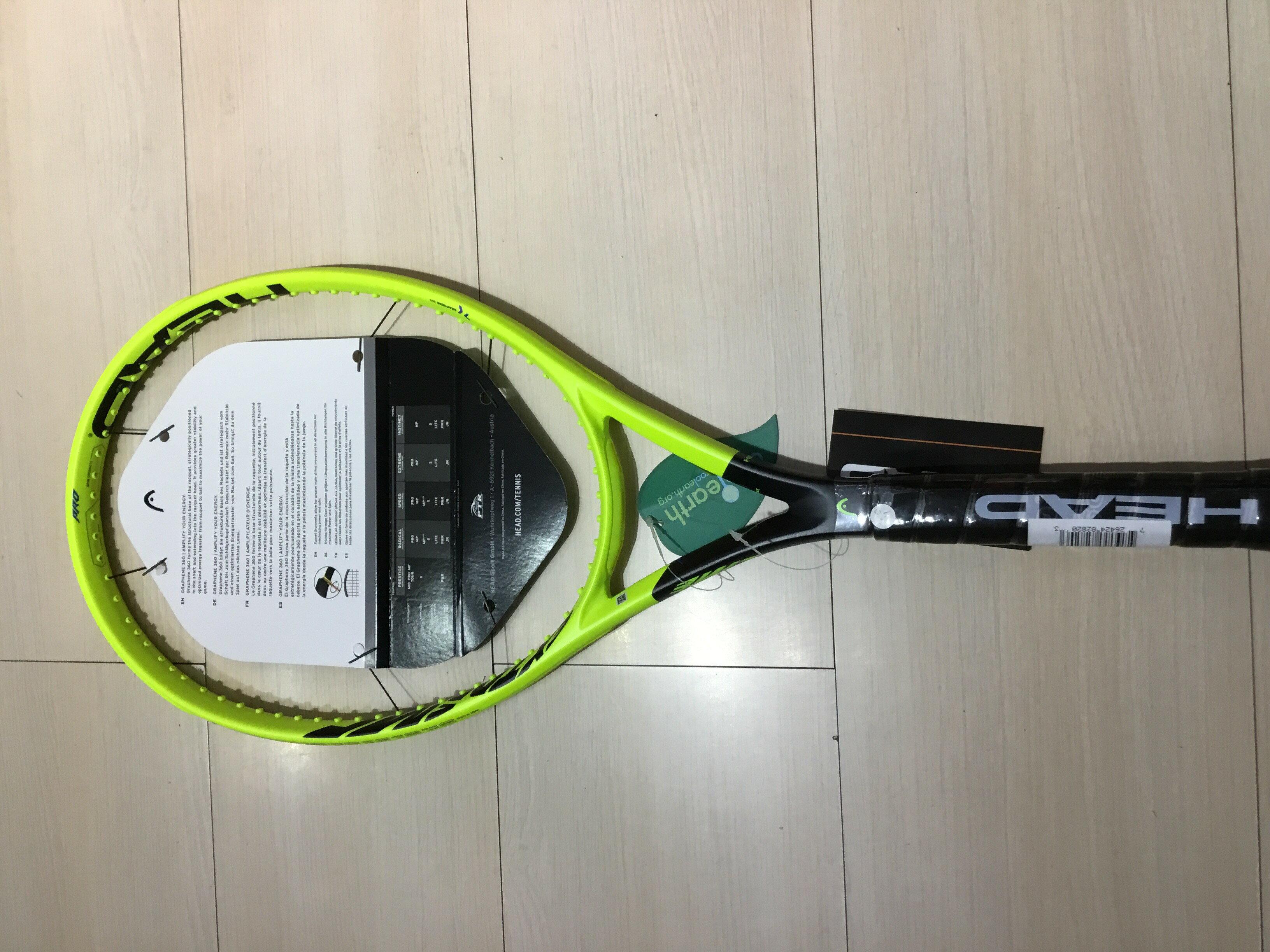 2019全新Head Extreme PRO專業網球拍