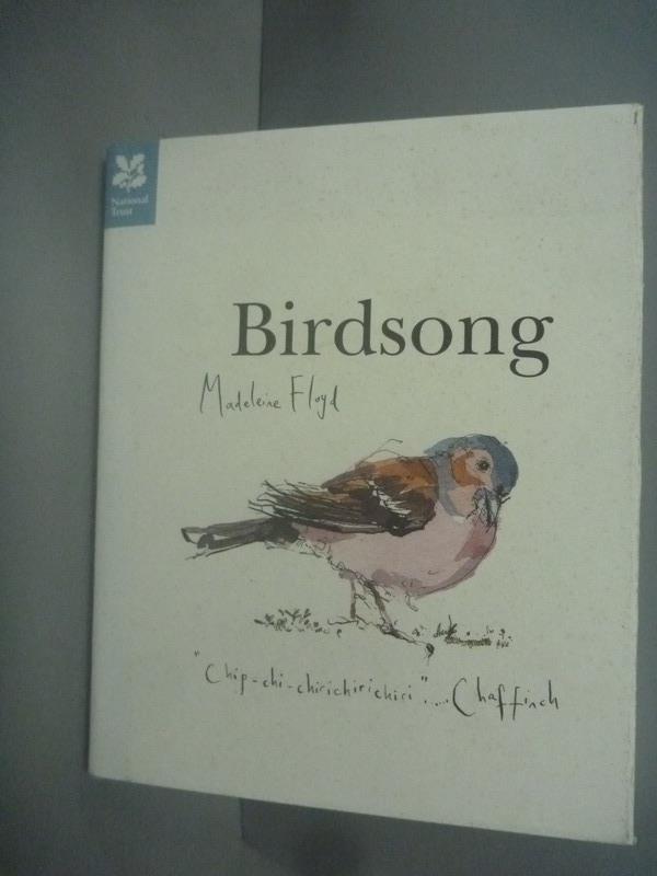 ~書寶 書T6/動植物_HPG~Birdsong_Floyd Madeleine