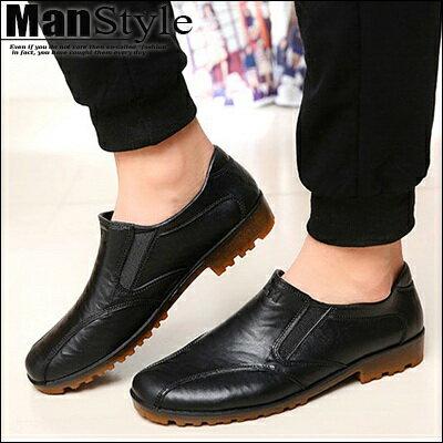 ~ ~兩雙888元~ManStyle潮流 雨靴男鞋塑膠鞋防滑耐磨短筒靴牛筋底防水雨鞋皮鞋~