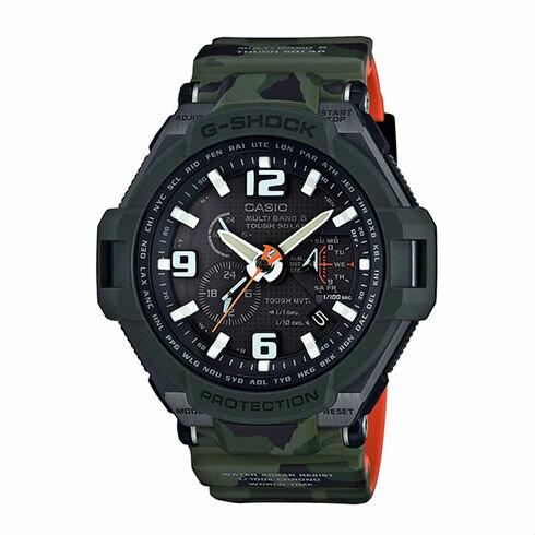 CASIOG-SHOCKGW-4000SC-3A迷彩太陽能電波流行腕錶50mm