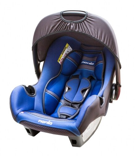 『121婦嬰用品館』納尼亞 提籃式汽座 - 素藍 FB00018 0