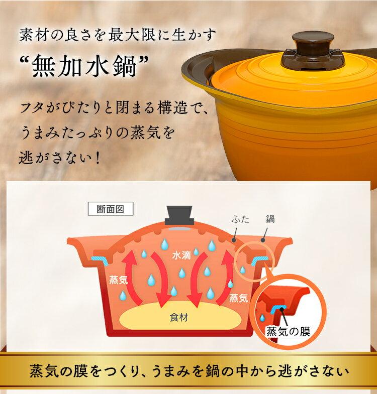 日本IRIS OHYAMA / KITCHEN CHEF / 無加水鍋 / 淺型 / 24cm / MKS-P24S / 兩手提鍋 / 兩手提鍋 / 無水烹調鍋 / 9594429。共3色-日本必買 日本樂天代購(5481*2)。件件免運 6
