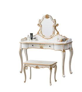 【尚品傢俱】HY-A32-02伊莉莎白4尺鏡台(含椅)