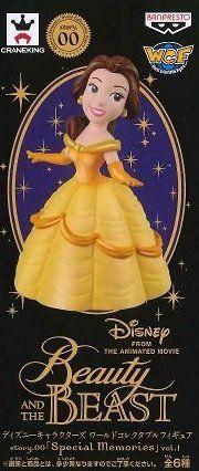 日版 WCF 迪士尼 特別版 珍珠色 Story.00 Special Memories VOL.1 單售 貝兒 美女與野獸 公仔