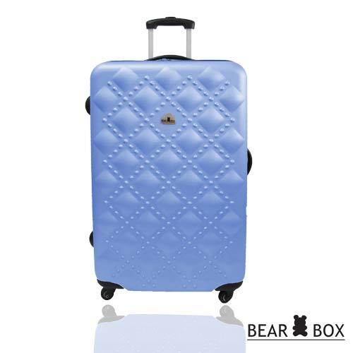BEAR BOX時尚香奈兒系列ABS霧面24吋輕硬殼旅行箱 / 行李箱 5