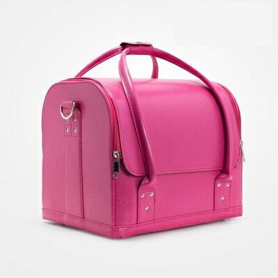 化妝箱 隨身收納盒 -PU大容量多隔層美甲美妝專業工具箱2色73d36【獨家進口】【米蘭精品】