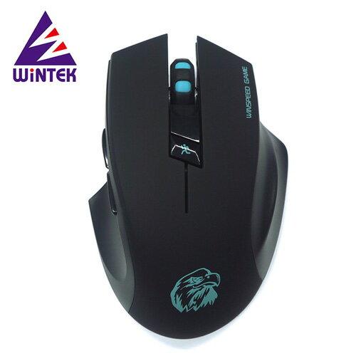 WiNTEK 文鎧 G10 超靜音無線遊戲鼠【三井3C】