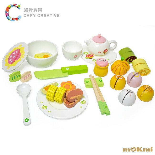 【木可米mOKmi x umu】木製家家酒-茶點玩具 MO100007
