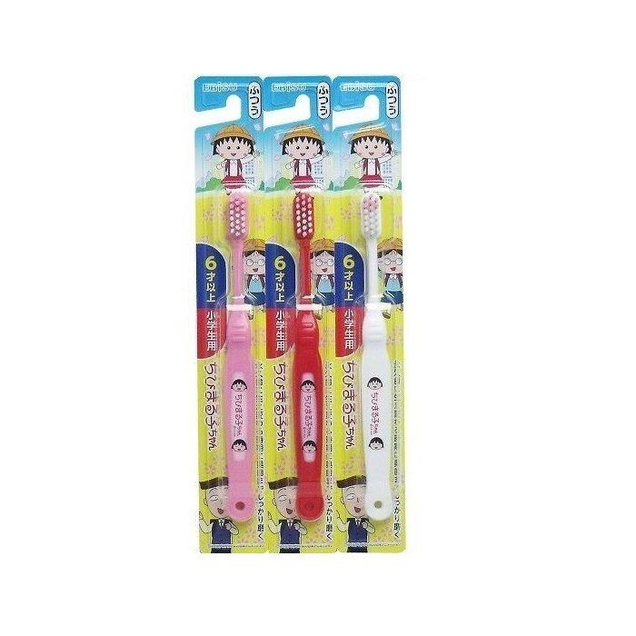 日本製 兒童櫻桃小丸子牙刷(6歲以上) 1入 39元【顏色隨機出貨】