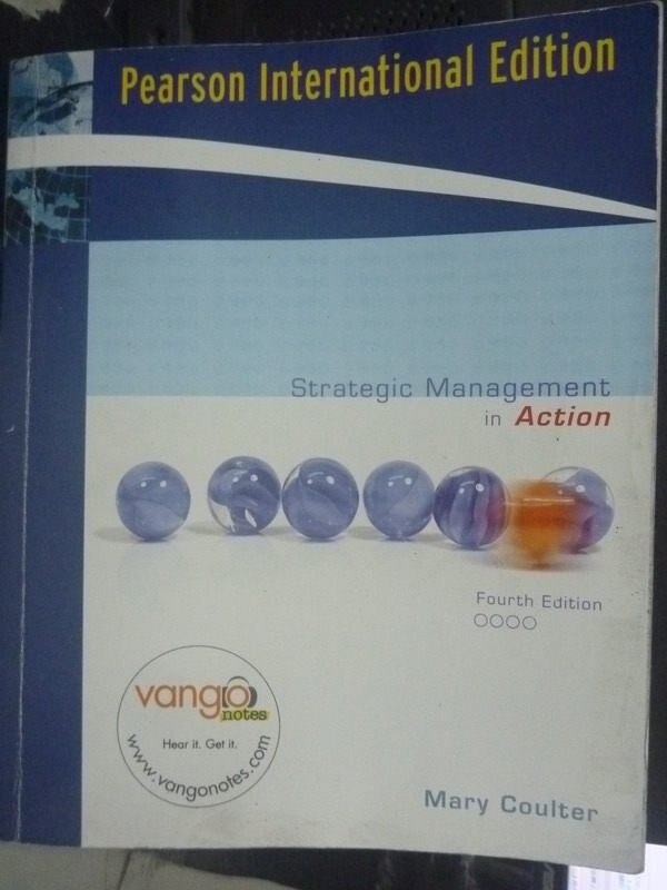 ~書寶 書T7/大學商學_QHN~Strategic Management in Acti