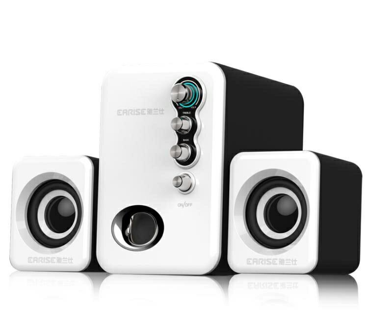 【快速出貨】Q8音響電腦音響台式機家用小音箱迷你 聖誕交換禮物