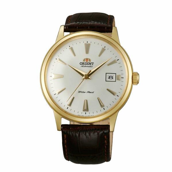 Orient東方錶FAC00003WDATEⅡ燦金機械腕錶白40.5mm