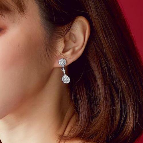 (預購+現貨)女人心事。夾式(螺旋夾)針式耳環【2-17059】