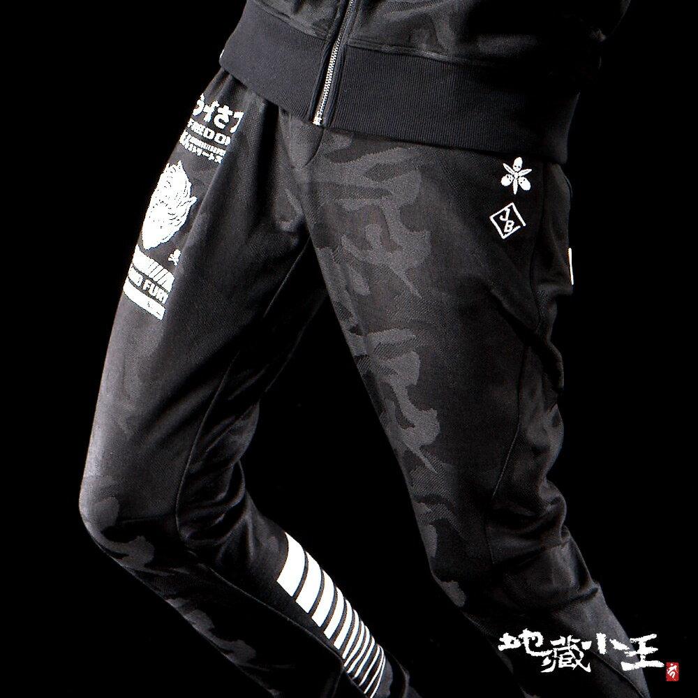 【專櫃新品】潮流街頭迷彩提織3D棉褲 - BLUE WAY  JIZO 地藏小王 3