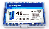 48 AA Pack Alkaline Batteries - Westinghouse