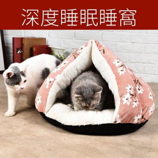中國水墨風印花深度睡眠床窩~翹翹鬍子