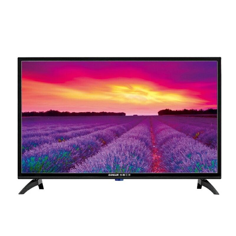 【領券折$300】SANLUX 台灣三洋 32吋LED 液晶顯示器 液晶電視 SMT-32MA5 (含視訊盒)