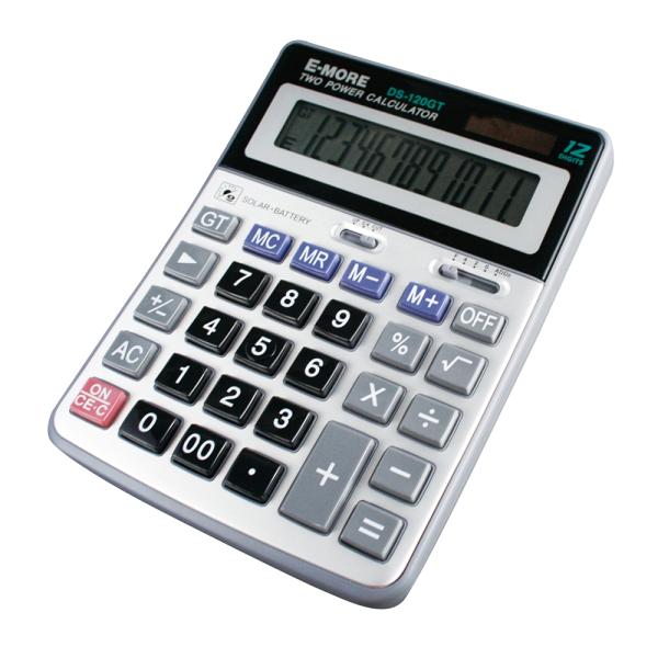 E-MORE國家考試專用計算機DS-120GT(12位數)