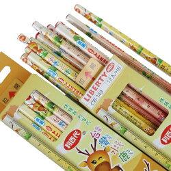 利百代抗菌鉛筆 CB-149 台灣水鹿三角塗頭鉛筆(HB)/一大盒12小盒(一小盒12支)共144支入{定60}MIT製