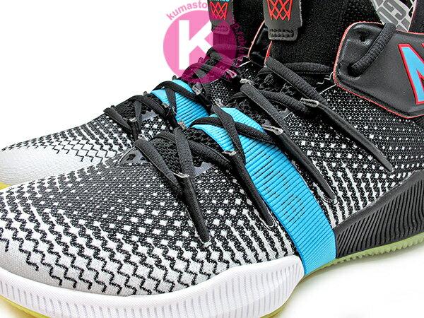 2019 最新 NBA 總冠軍 Kawhi Leonard 強力代言 NEW BALANCE OMN1S 黑灰白藍 全腳掌的 FUELCELL 緩震科技 MVP 籃球鞋 紐巴倫 小可愛 (BBOMNXBS) 1219NBA 2