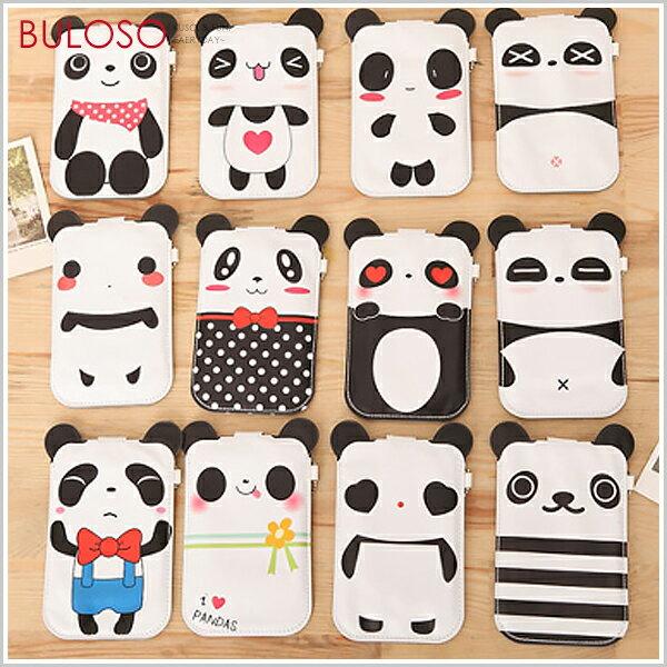 《不囉唆》12款立體熊貓iphone手機包 收納袋/收納包/手機套(不挑色/款)【A241632】