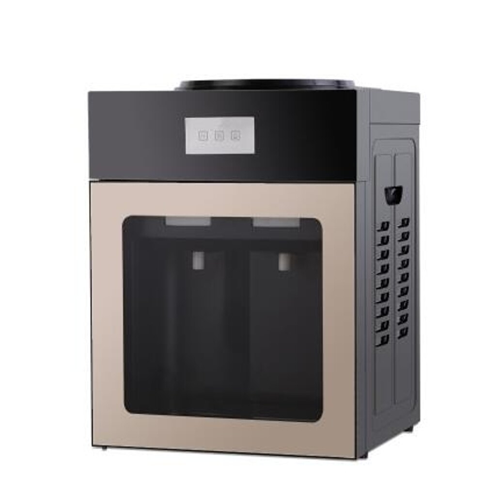 飲水機家用冰熱臺式制冷宿舍小型迷妳節能冰溫熱飲水器LX220v 清涼一夏特價
