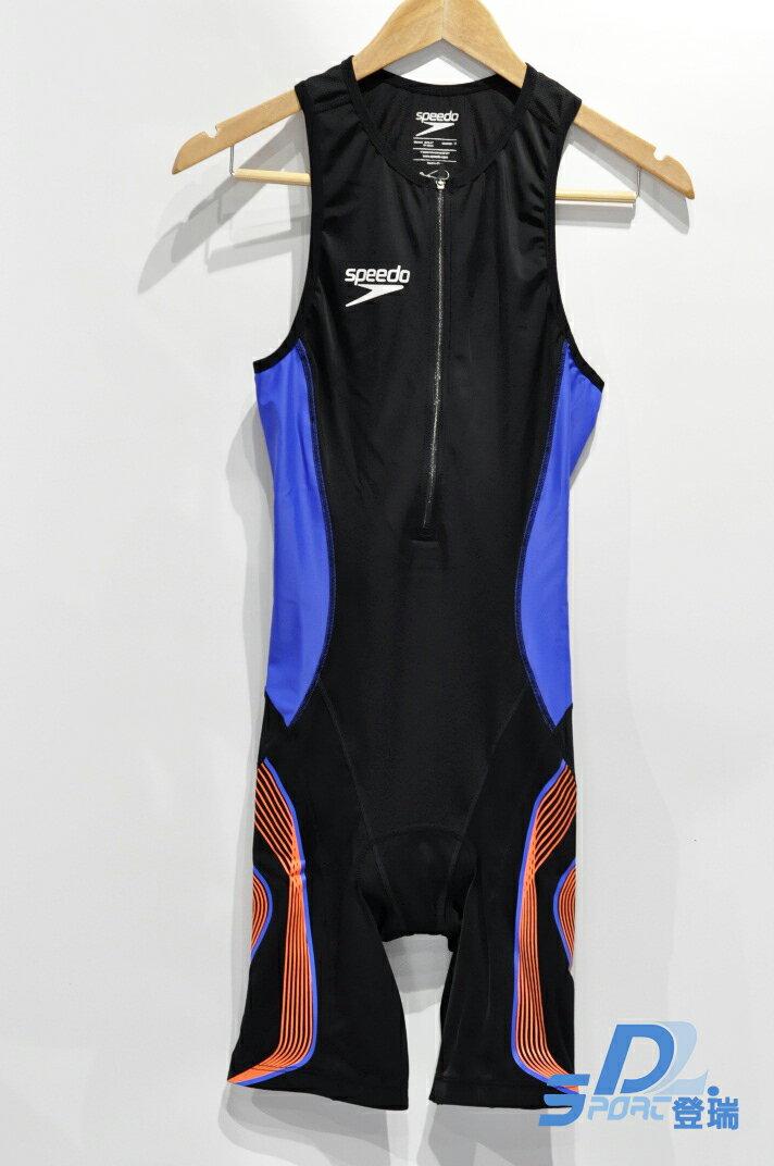 【登瑞體育】SPEEDO 男款無袖連身三鐵衣 SD8114298279