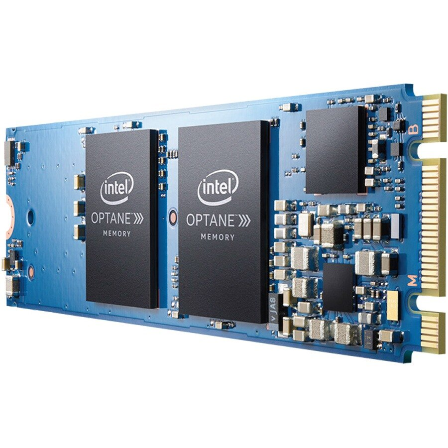 Intel Optane 32GB Internal Flash Accelerator M.2 2280 PCI Express 3.0 x2 1.32 GB/s Maximum Read Transfer Rate 290 MB/s Maximum Write Transfer Rate Blue MEMPEK1W032GAXT 0