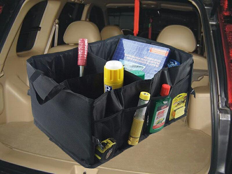 【珍愛頌】C046 汽車整理箱 汽車收納箱 大容量 可折疊 置物收納箱 儲物箱 車用置物袋 工具箱 後車箱 露營 收納 整理箱 整理袋