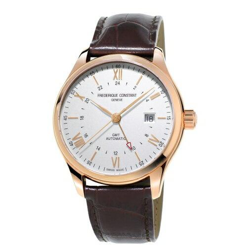 CONSTANT 康斯登/GMT高雅經典時尚男仕機械腕錶/FC-350V5B4