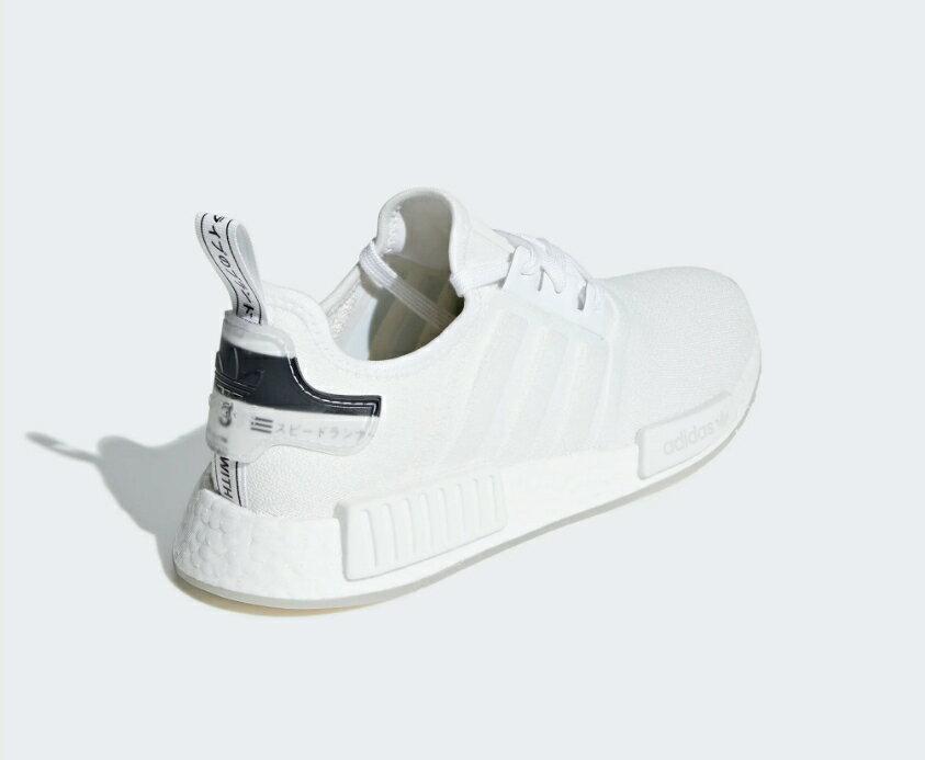 【ADIDAS】 NMD_R1 白 經典鞋 休閒鞋  慢跑鞋 男 訂價5290 BD7746 (Palace store) 3